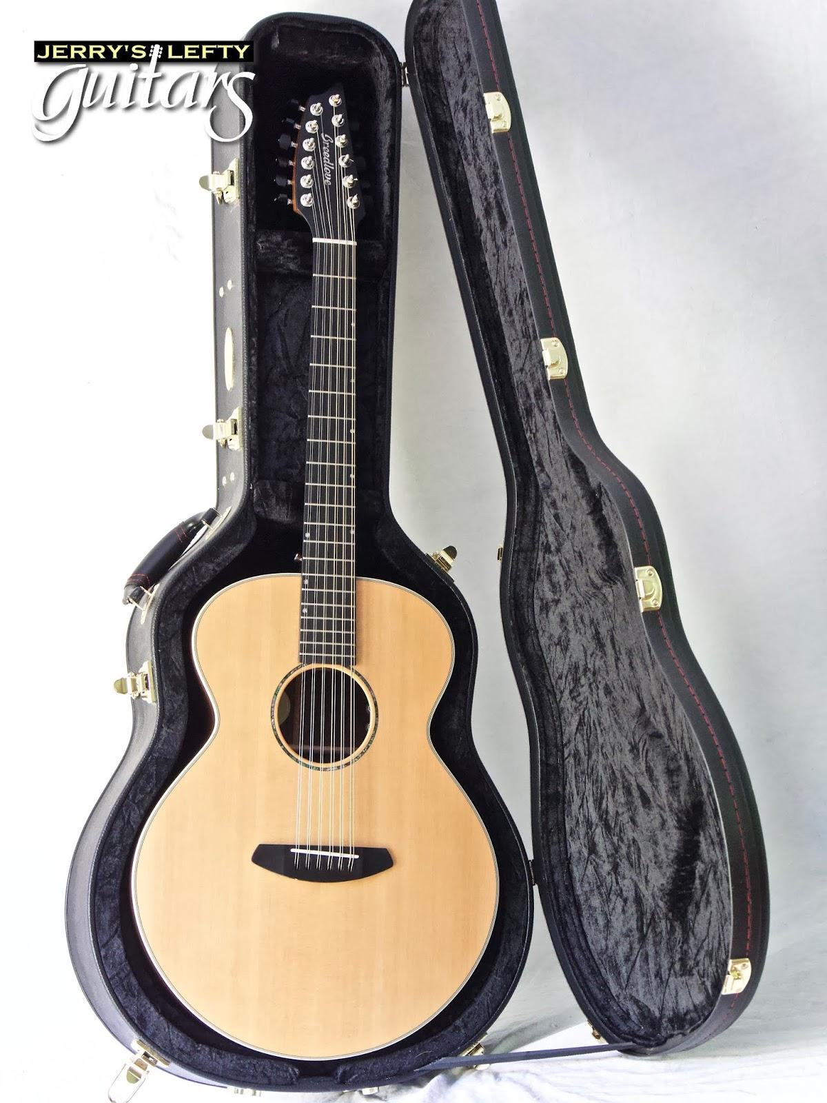 jerry 39 s lefty guitars newest guitar arrivals updated weekly breedlove premier 12 string left. Black Bedroom Furniture Sets. Home Design Ideas