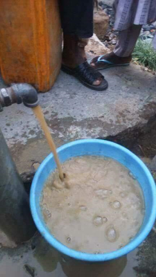 O.M.G! see the water coming out from public tap in zamfara state