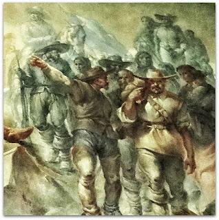 Os Bandeirantes - A Formação Histórico-Etnográfica do Povo Rio-Grandense, Aldo Locatelli, Salão Alberto Pasqualini, Palácio Piratini, Porto Alegre