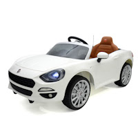 fiat 124 spider official licensed battery toy car