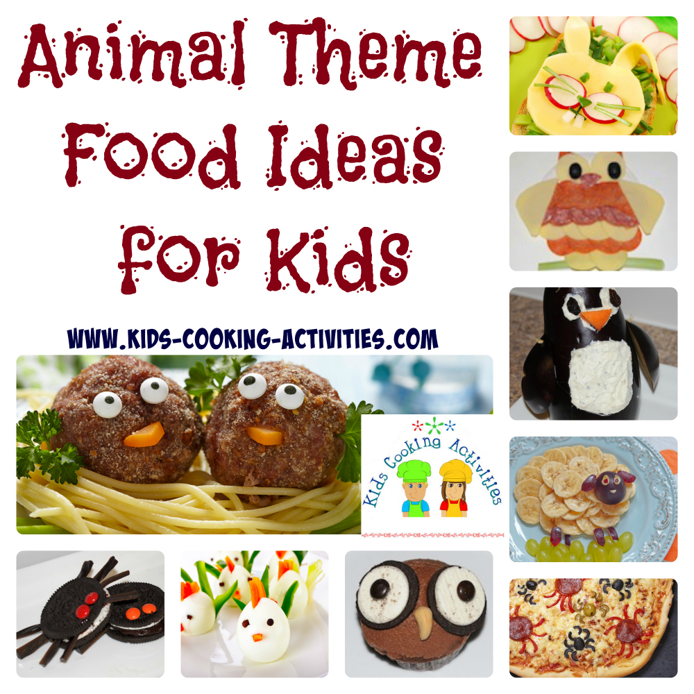 Nice Dinner Party Ideas For Kids Part - 13: Animal Theme Ideas