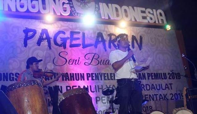 Pagelaran Seni Budaya, Menuju Pemilu Serentak 2019 Di Kab. Kep. Selayar
