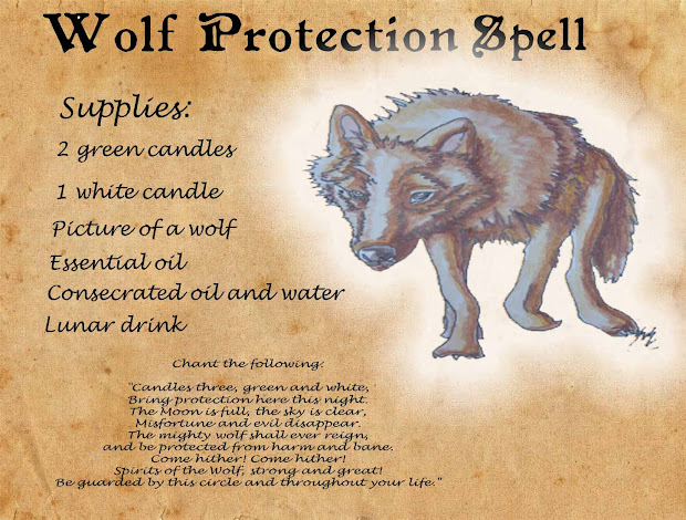 Become A Werewolf Spell - Year of Clean Water