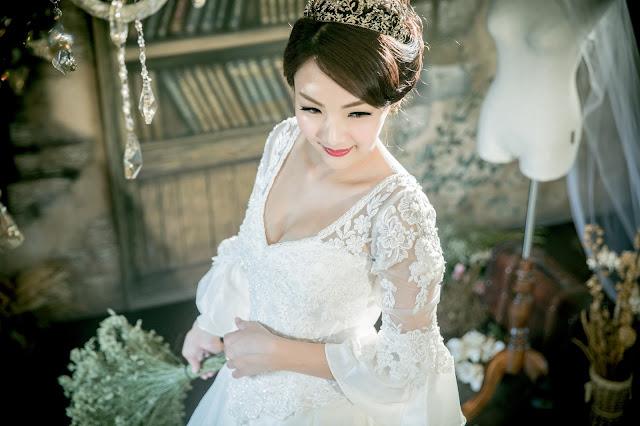 【手工婚紗】手工白紗美到讓讓新娘子都失心瘋的優質手工婚紗