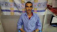 Image result for رمضان احمد کمال زندانی بیمار در زندان قزوین د