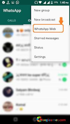 Control friend whatsapp account silently