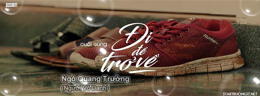 Ảnh bìa facebook Đi Để Trở Về - Soobin Hoàng Sơn