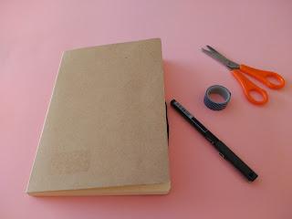 idea de regalo DIY diario de un viaje