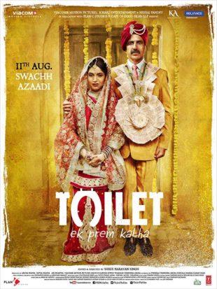 Toilet Ek Prem Katha 2017 Full Hindi Movie Download BRRip 1080p
