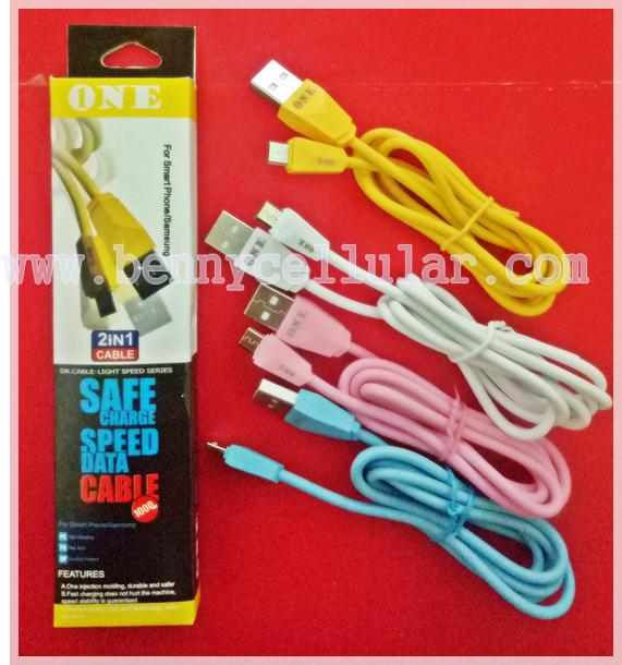 KABEL DATA Charger Merk ONE