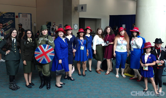 My SDCC Agent Carter Cosplay