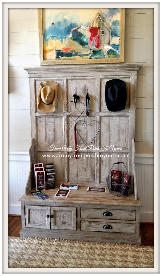 Texas Farmhouse Foyer-RoundTop Texas-Trendmaker Homes-From My Front Porch To Yours