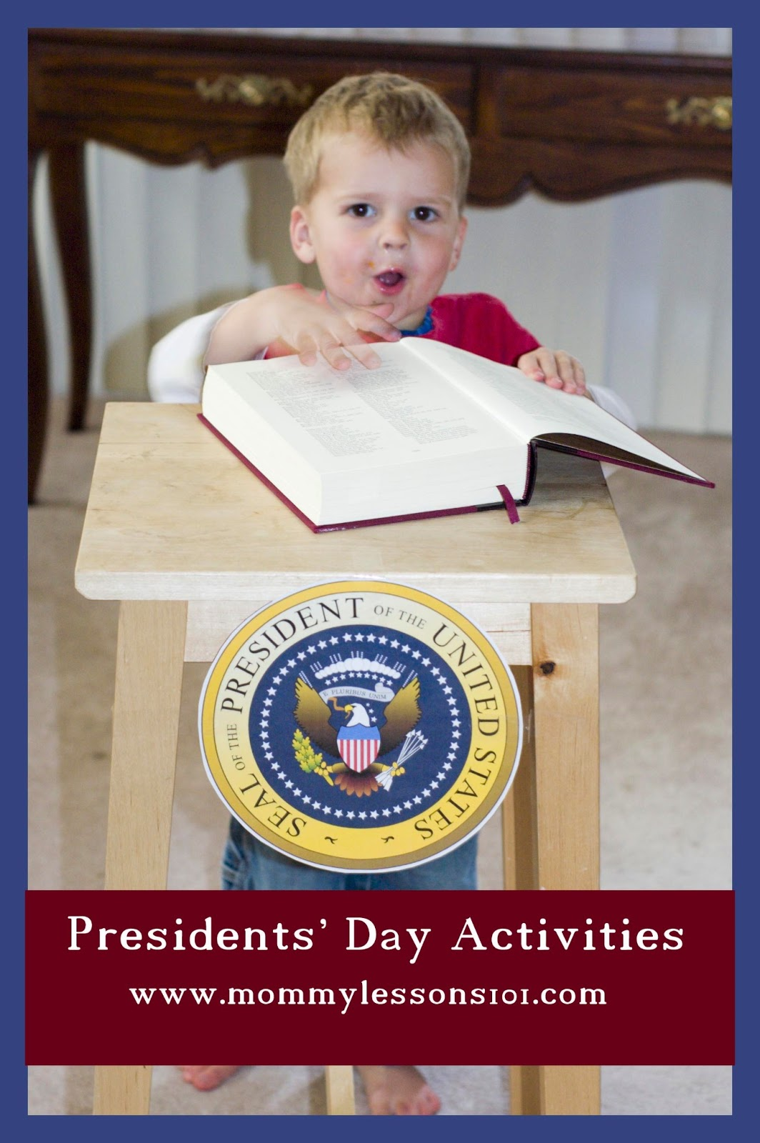 Mommy Lessons 101 Presidents Day Activities And Books