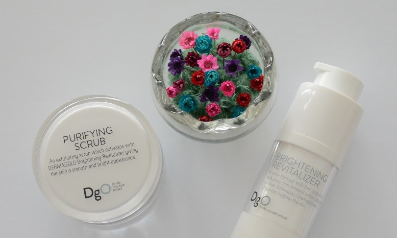 Dermagold's Award Winning Purifying Scrub and Brightening Revitalizer