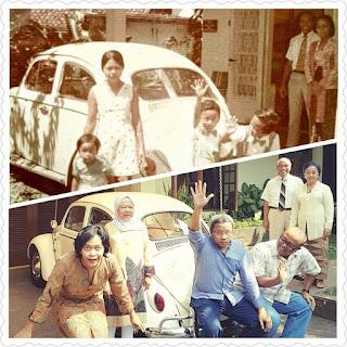 Mengulang Pose Memori Foto Setelah 43 Tahun ... LUAR BIASA KEREN Keluarga ini !!!