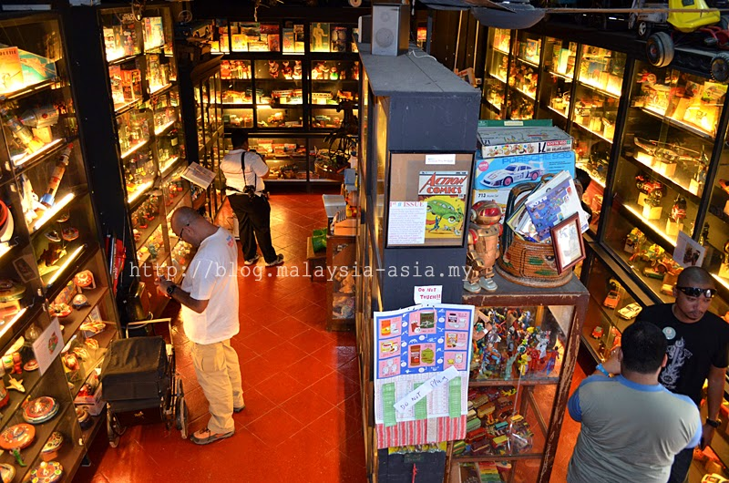 Antique Toy Museum in Penang Malaysia