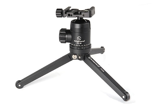 Sunwayfoto T1A10 Tabletop Tripod with Sunwayfoto FB-28 ball head