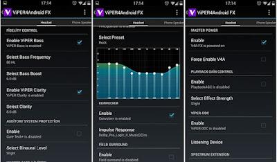 تطبيق ViPER4Android FX للأندرويد - تحميل مباشر