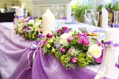 decoration florale pour mariage