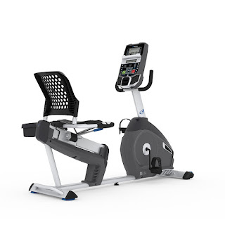Nautilus R614 Recumbent Exercise Bike, image, review features & specifications plus compare with R616 and R618