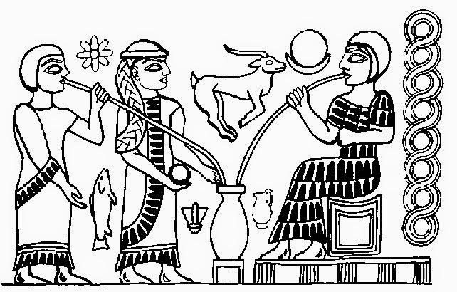 ricerca sui babilonesi per la scuola elementare