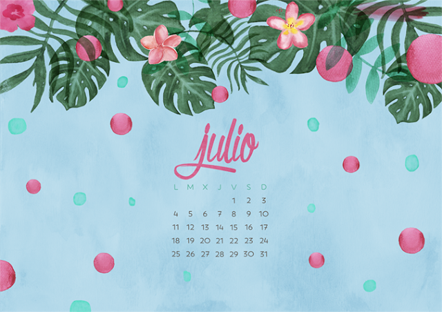 Milowcostblog - wallpaper calendario julio 2016