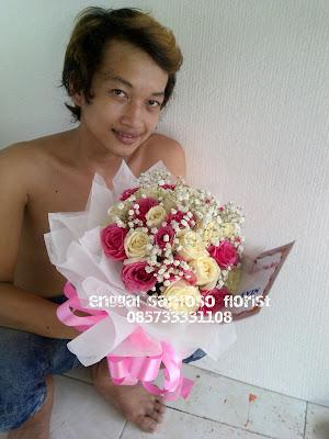Buket mawar untuk pacar dan kekasih anda