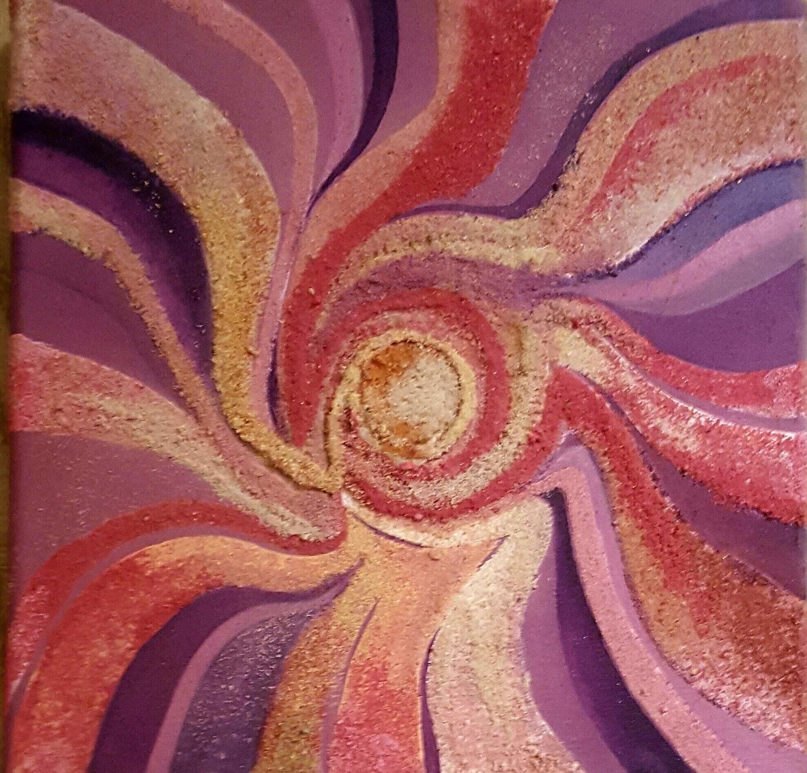 Arte Pinturas Mandalas Pinturas Con Texturas - Pinturas-de-mandalas