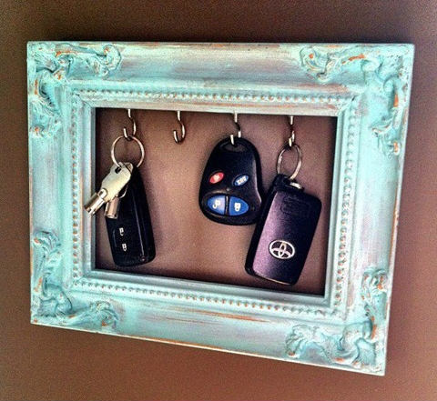 Photo Frame Key Holder