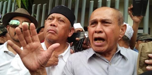 Di Depan Bawaslu, Kivlan Zen Serang SBY Dan Demokrat