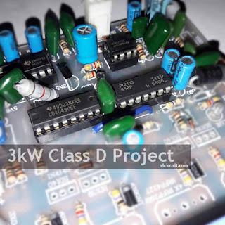 3000W CLass D Power Amplifier Circuit