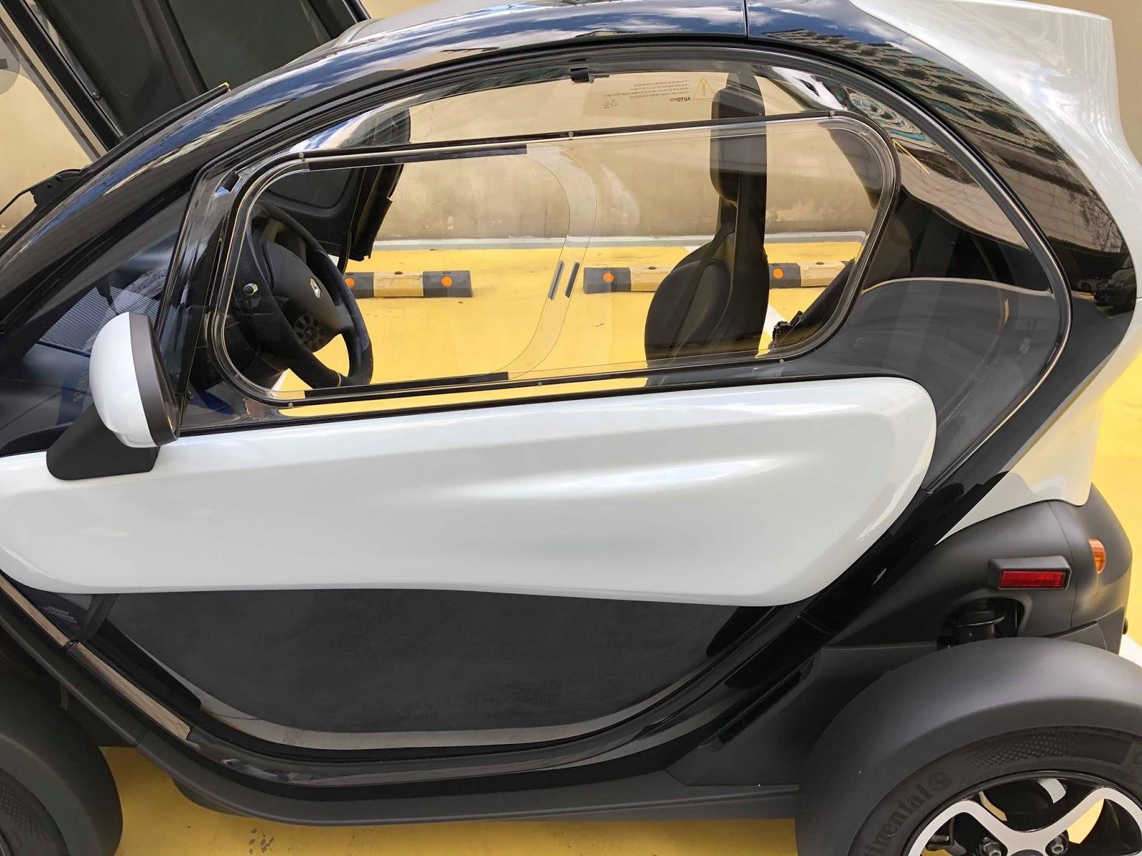 La Vie En Twizy Renault Twizy Comparatif Des Vitres Mise à Jour
