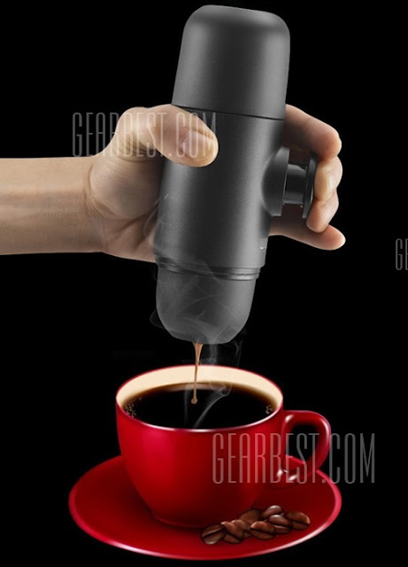 All About: WACACO Manual Minipresso Espresso Maker from GearBest