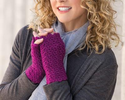 Finger-Free Crochet Gloves Pattern