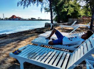 private beach hotel java paradise