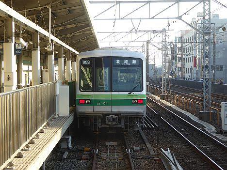 東京メトロ千代田線 北綾瀬行き1 05系
