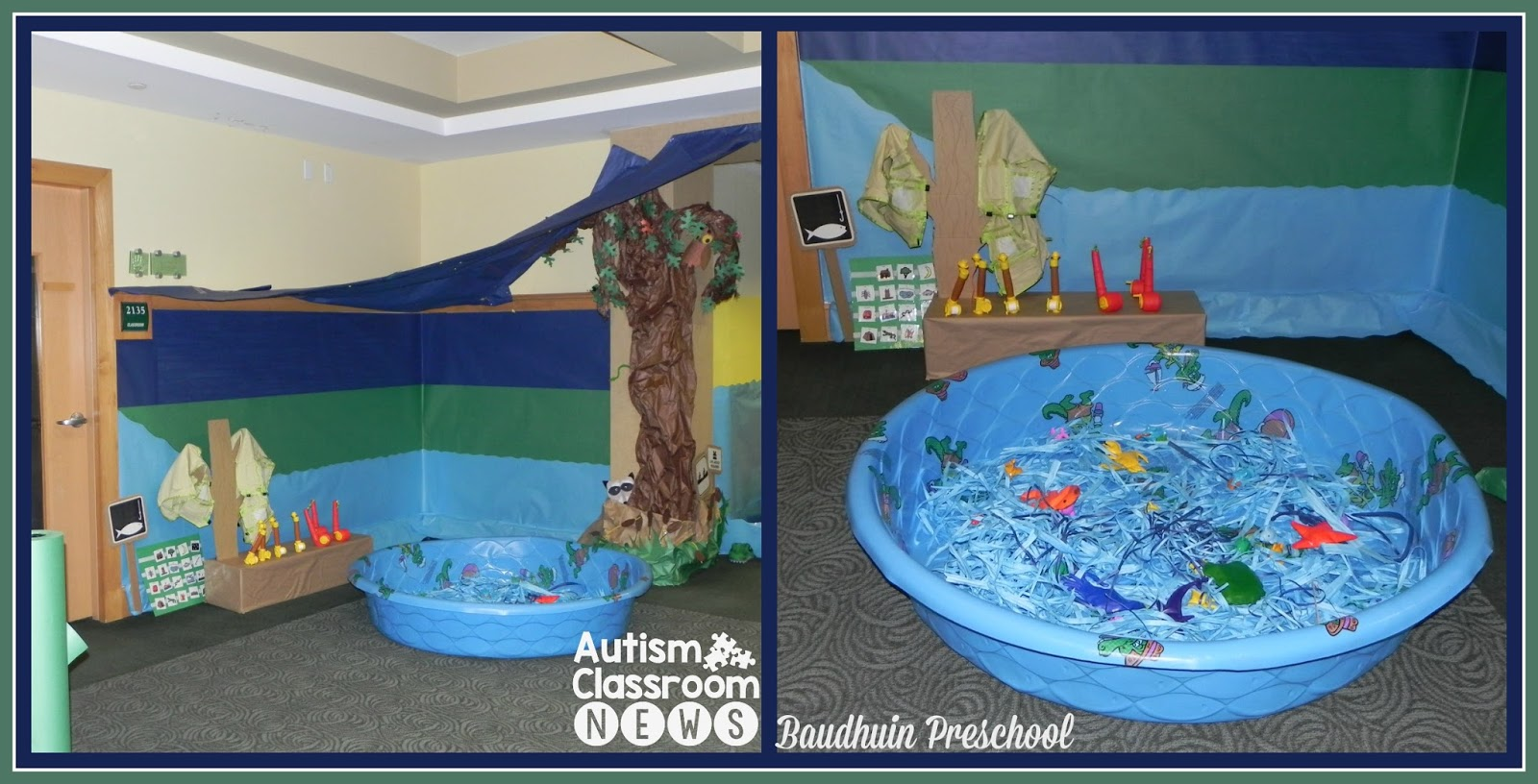 Autism Classroom News A Camping Theme For Esy From The