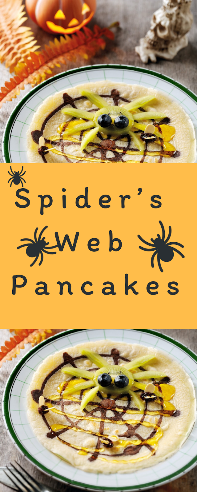 Spider's Web Pancakes