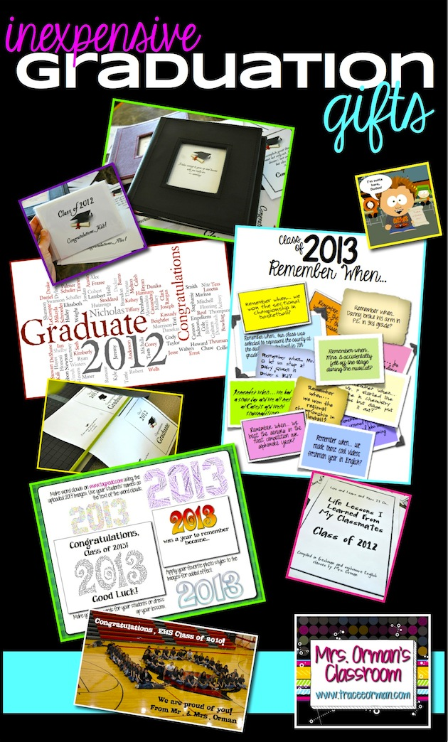 inexpensive and thoughtful graduation gifts for students - Graduation Gift Ideas
