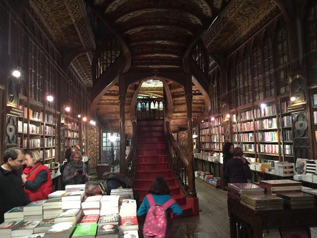 Buchladen Livraria Lello & Irmão