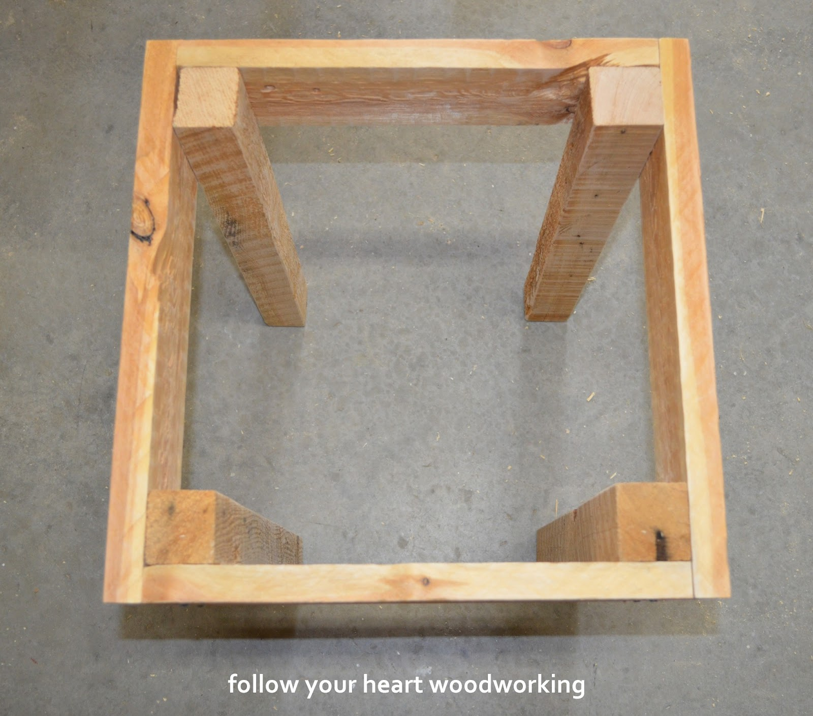 Follow Your Heart Woodworking Pallet Tables