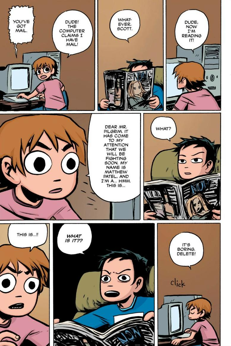 Read online Scott Pilgrim comic -  Issue #1 - 63