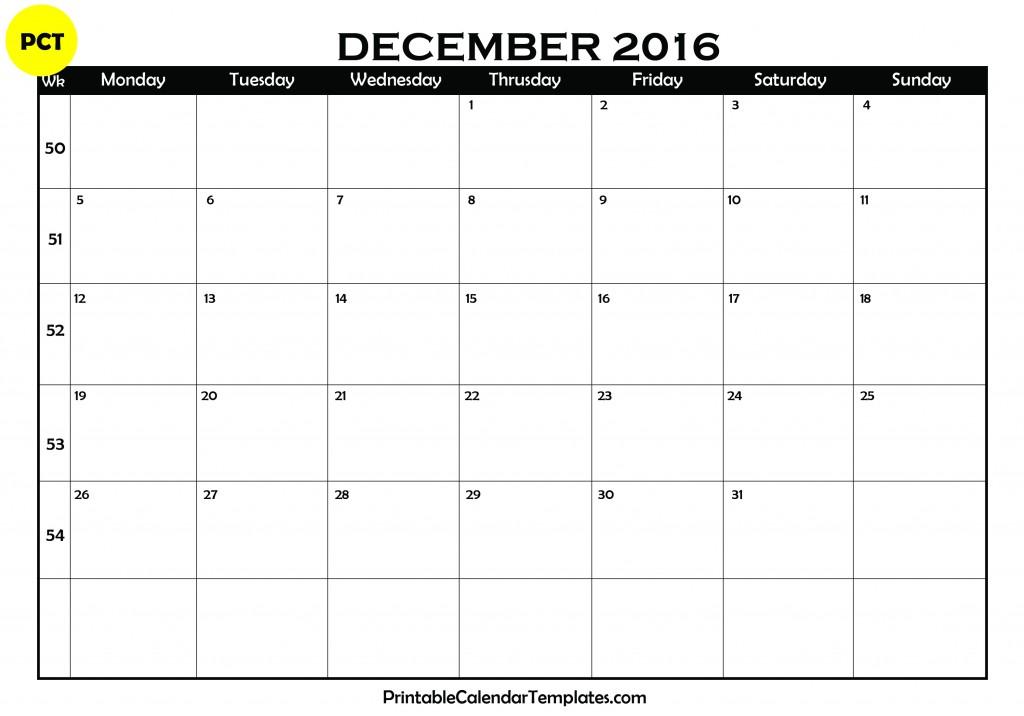 december 2017 printable calendar, december 2017 calendar, december ...