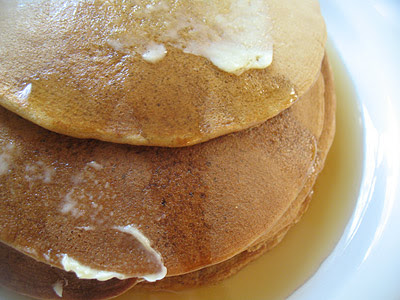 Buckwheat and Molasses Pancakes