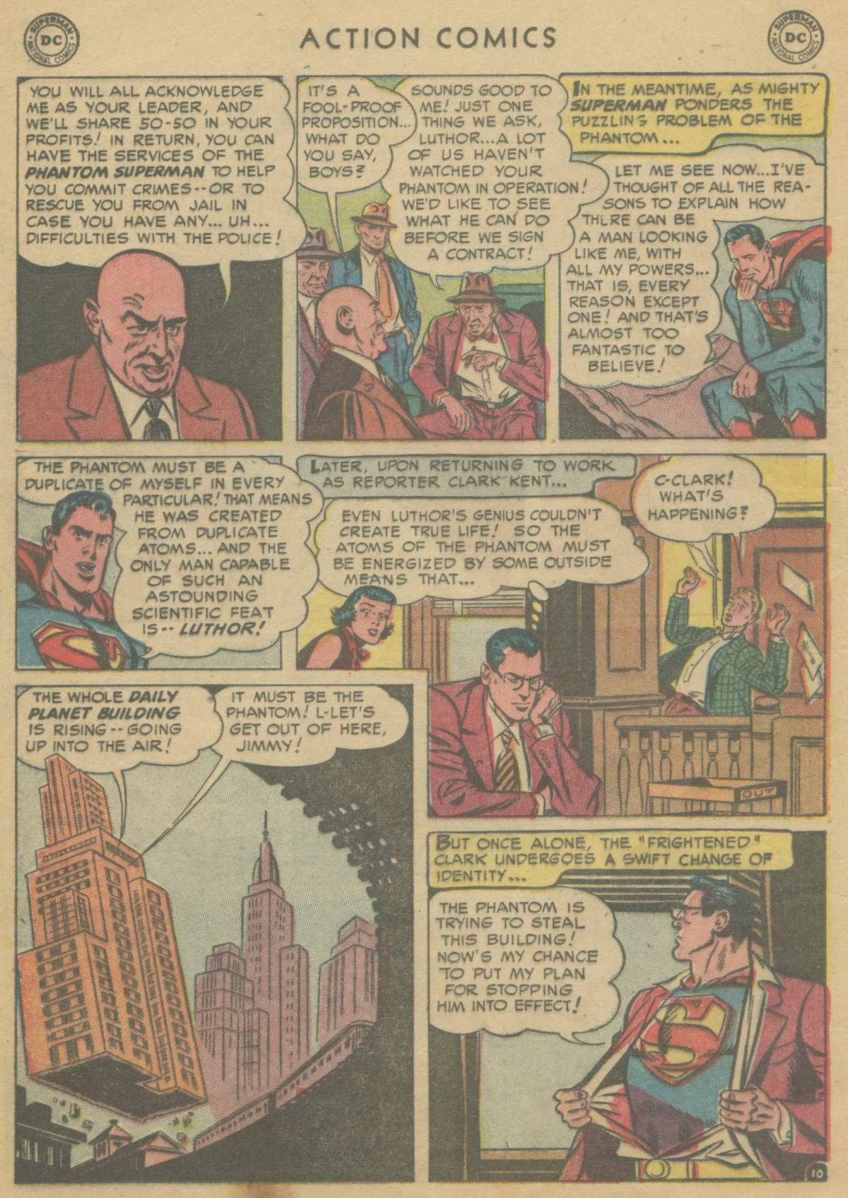 Read online Action Comics (1938) comic -  Issue #199 - 13