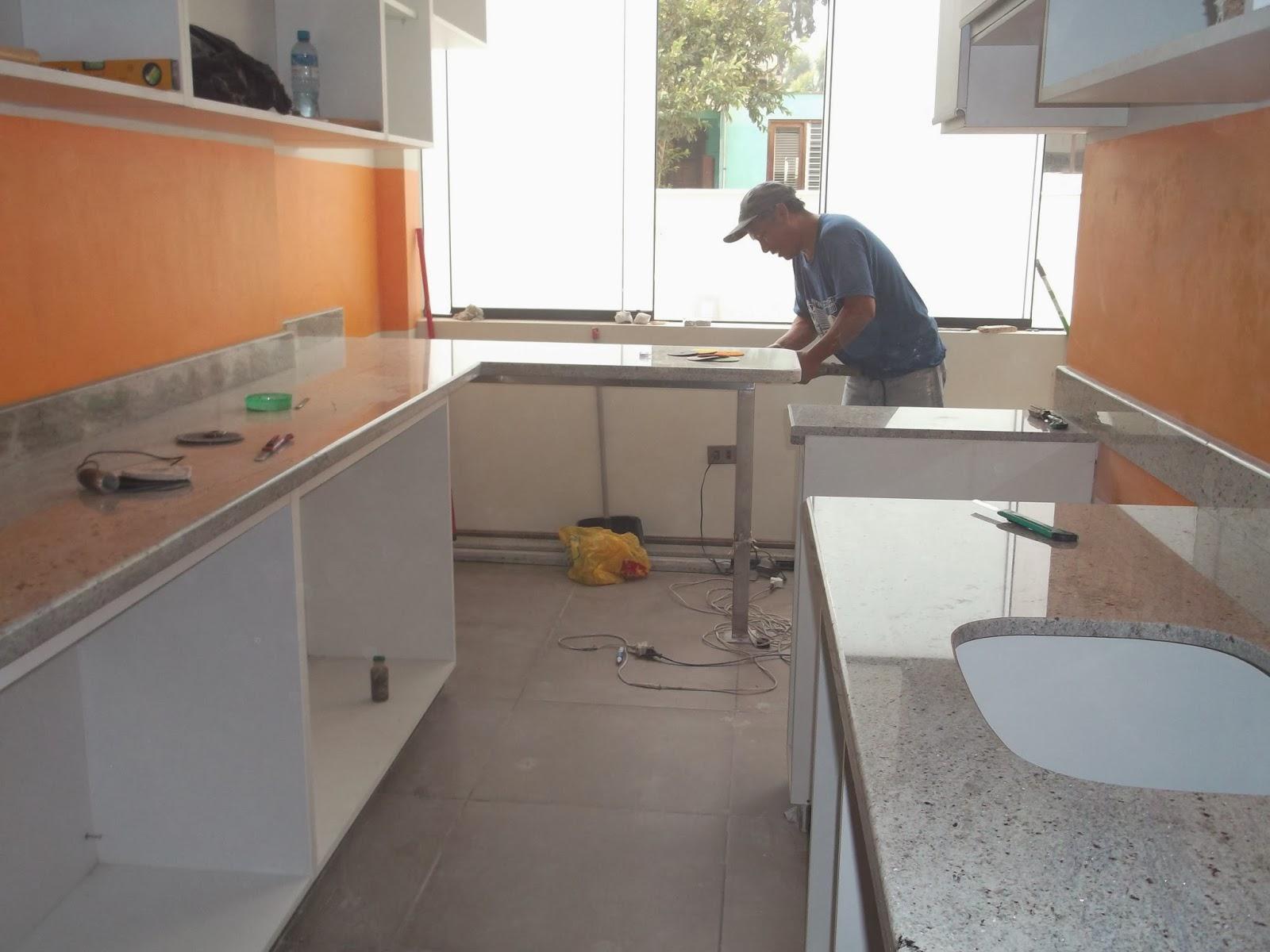 Mesas cocina granito conservaci n mantenimiento for Granito natural para cocinas