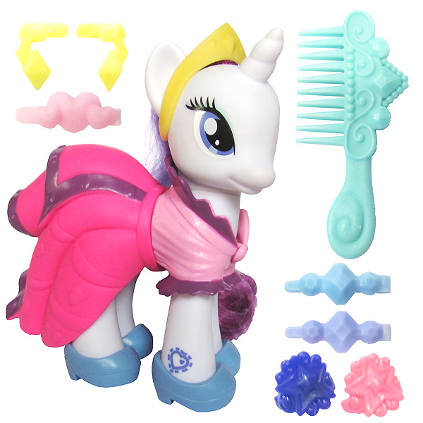 My Little Pony Fashion Style Rarity Brushable Pony Mlp Merch