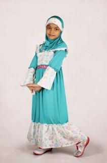 baju lebaran anak perempuan 8 tahun