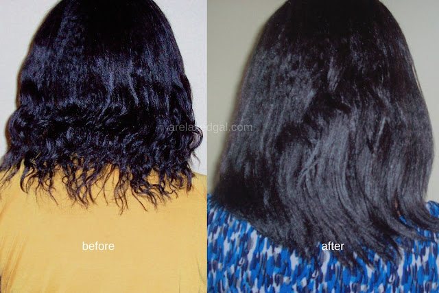 I'm sharing results from my participation in the Hairlista Castor Oil Challenge during my first check in | @arelaxedgal