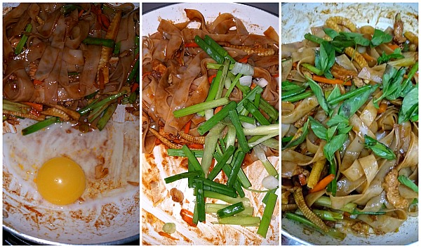 How to make spicy drunken noodles